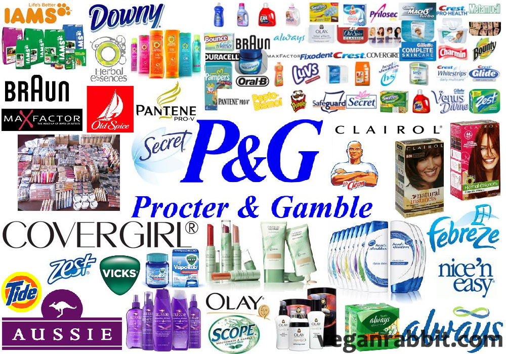 Is Procter Gamble Cruelty Free Or Vegan Vegan Rabbit