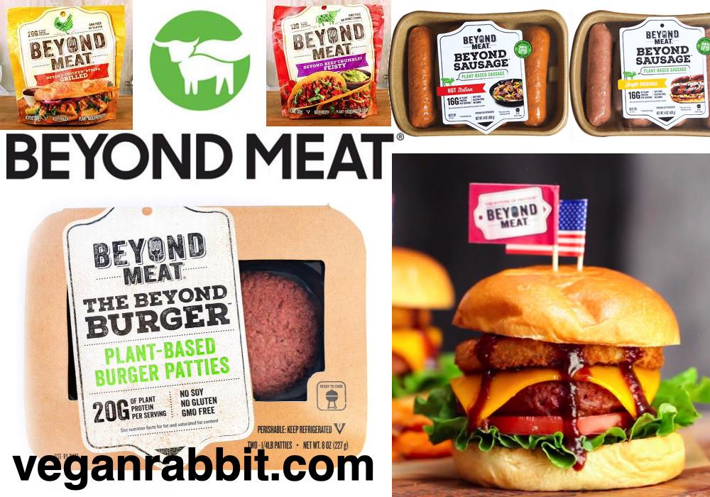 V Beyond Meat 187 Vegan Rabbit